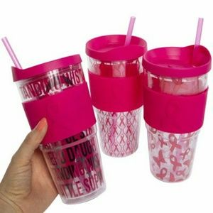 Breast Cancer Awareness cups